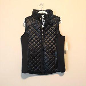 Michael Kors Black Puffy Sport Vest
